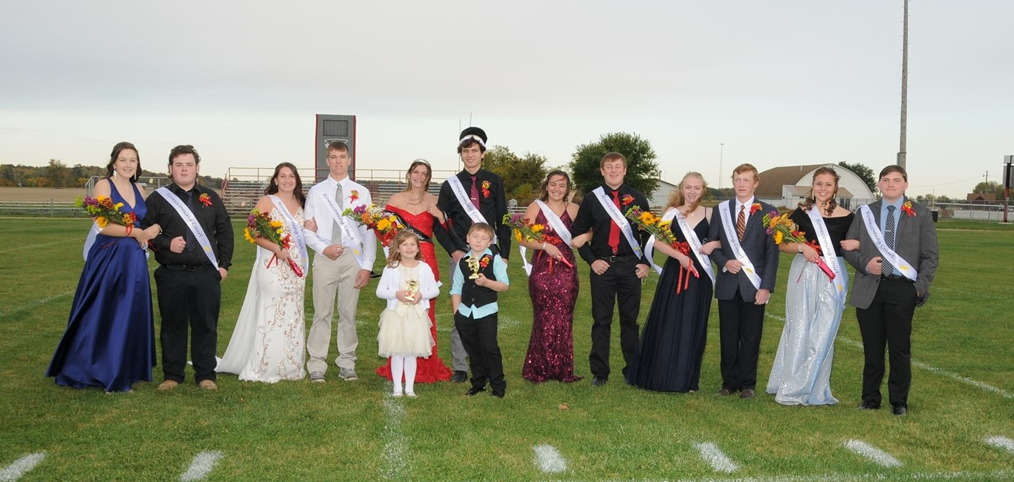 2020 Homecoming Court