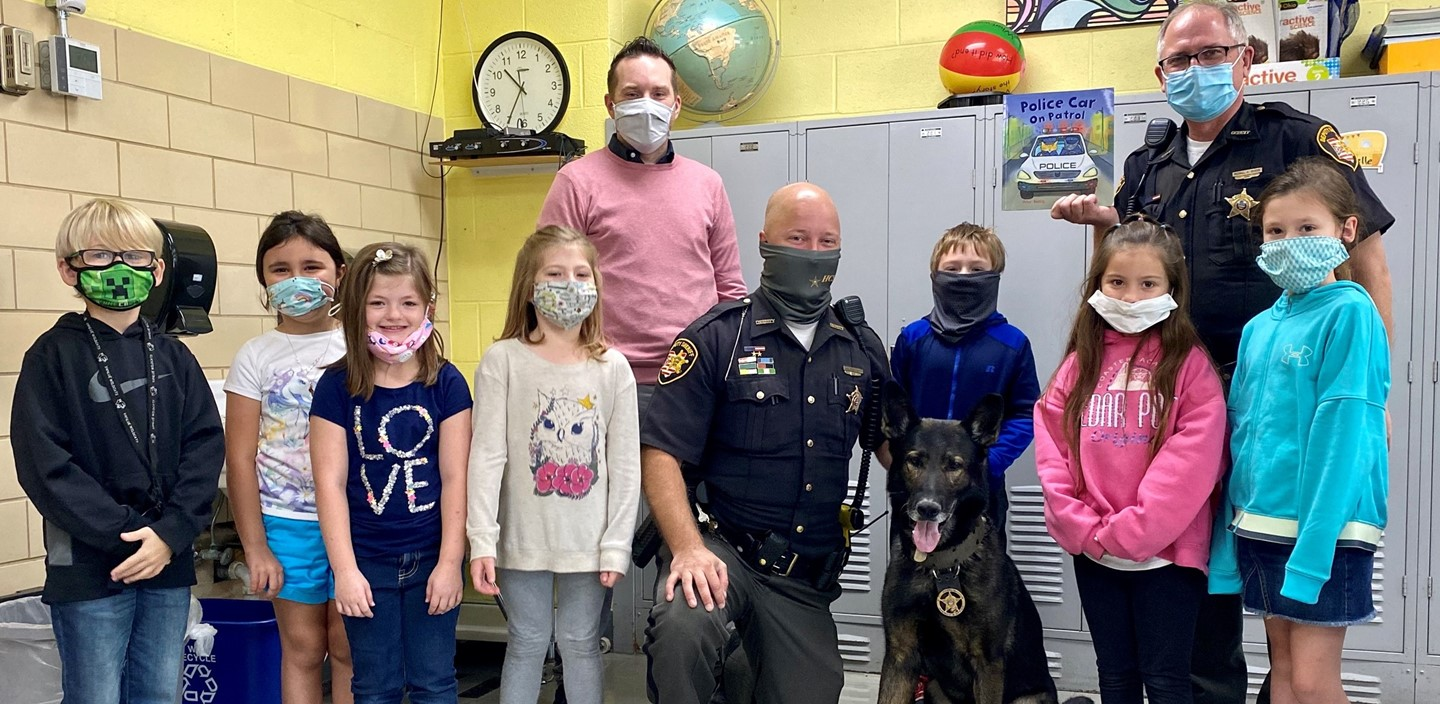 2nd Grade with K-9 Charlie